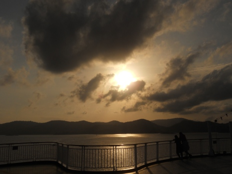 Departing Sun