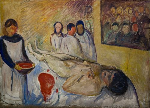 self-portrait-on-the-operating-table-edvard-munch-oil-painting