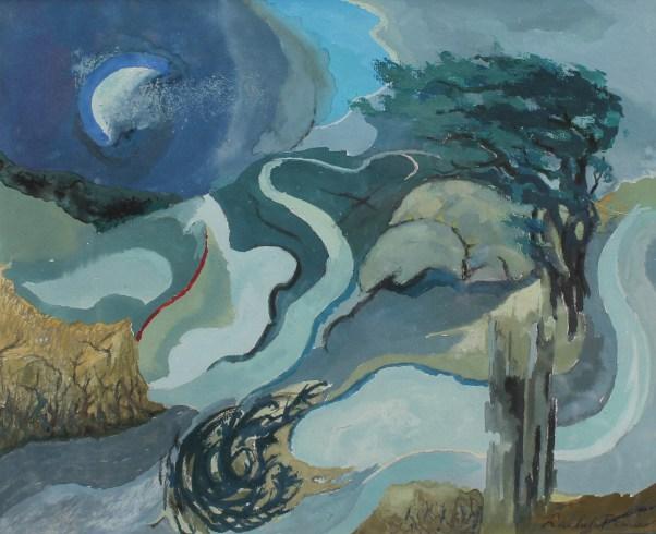 rachel-fenner-windy-landscape-with-waning-moon